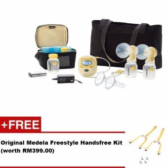 Harga Original Medela Freestyle Double Electric Breast Pump + FREE GIFT
