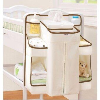 Harga Little Rabbit Diaper Change Organizer Baby bed Baby Cot hanging bag