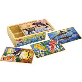 Harga MELISSA & DOUG SEA LIFE PUZZLE IN A BOX