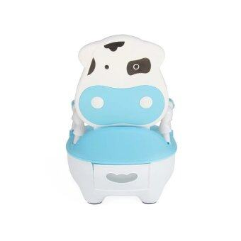 Harga Children Baby Potty Training Cow potty - Blue White