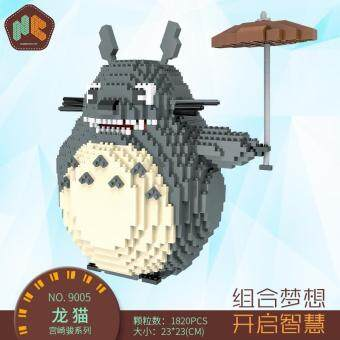 Harga Kid Jewel Granulum Cartoon Totoro Chinchilla Building Blocks Toy