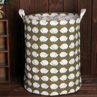 Harga Hot Sales Large Beam Laundry Basket Toy Storage Clothes Laundry Basket - Hedgehog