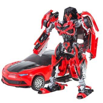 Harga Transformers Autobot Bumblebee (Red Color) Warrior Alloy Edition Figure Voyager Lever