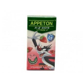 Harga Appeton A-Z Vitamin C Strawberry 100'S