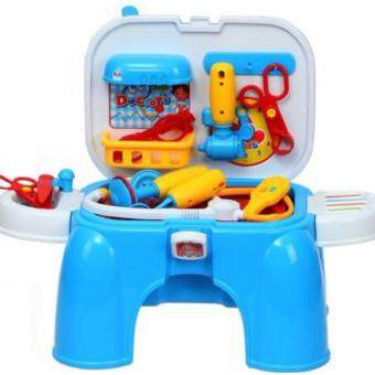 Harga Kids Real Action Portable Doctor Pretend PlaySet