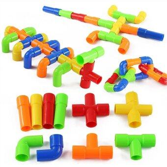 Harga Plastic Tube Assembly Building Block Pipe Kid's Educational Toy