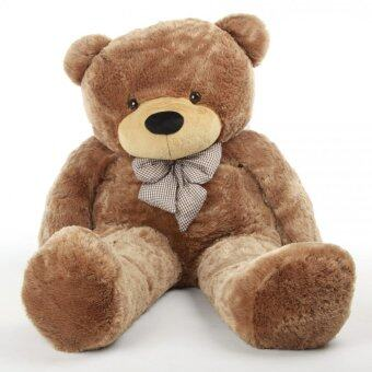Harga 80cm Cute Teddy Bear (Dark Brown)