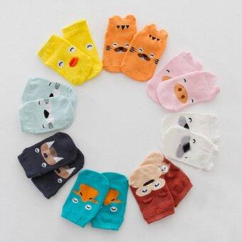 Harga Little Ears Baby/Toddler Animal Cotton Socks (Light Blue Seal)