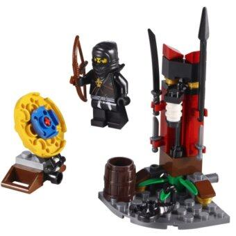 Harga BELA Ninjago Thunder Swordsman Ninja Training Outpost Building Blocks Toys Kids Birthday Gifts
