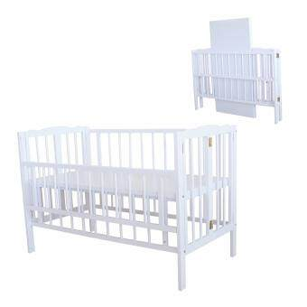 Harga Royalcot R295 Baby cot White Off Foldable Cot