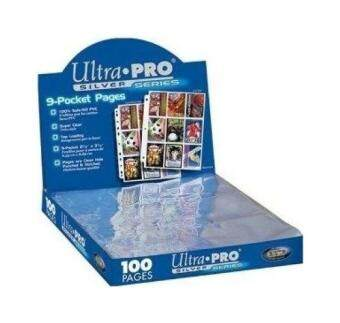 Harga Ultra Pro Silver Series 9 Pocket Trading Card 100 Pages Box