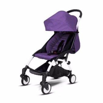 Harga CUTEBY STROLLER Purple Color