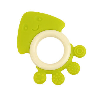 Harga HengSong Baby New Silicone Octopus Gums Teeth Gums Teething Teether Green