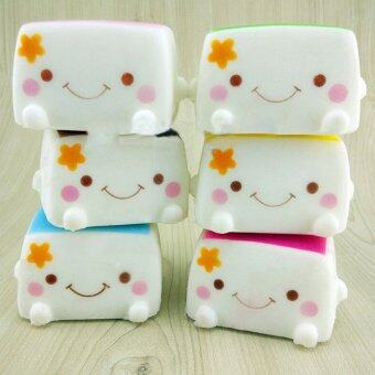 Harga Colorful Soft Squishy Chinese Tofu Adorable Expression Smile Face Fun Toys