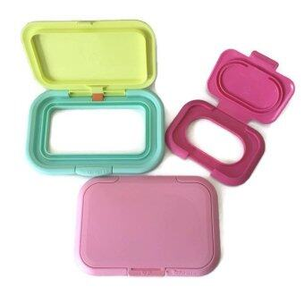 Harga Bitatto Mini Reusable Wet Wipes Lid (3pc Essential Set)