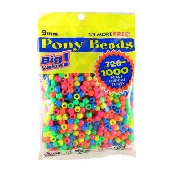Harga Pony Beads Multi-colour 6 x 9mm