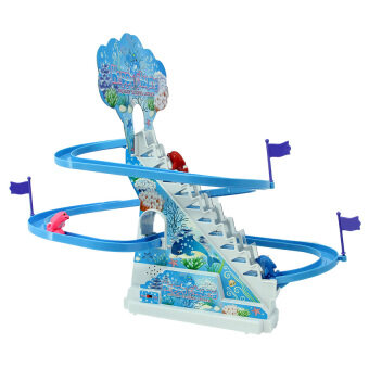 Harga Electronic Dolphin Happy Playing Rotary Sliding Ladder Stairs Toy