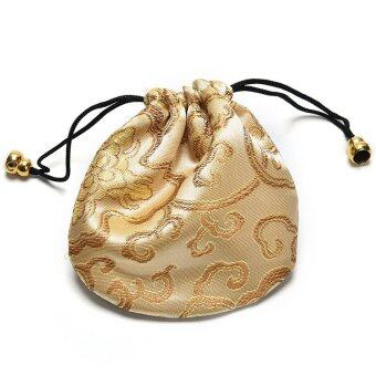 Harga Embroidery Bag Traditional Chinese Auspicious Clouds Pattern Gorgeous Bag Beige
