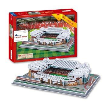 Harga 3D Puzzle Old Trafford Stadium Model For Kids Educational Toy
