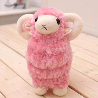 Harga Cute simulation small sheep doll doll plush toy grab machine Wedding Doll birthday gift girl