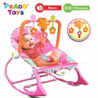 Harga PRADO Baby Rocker Bouncer New Born Toddler Music Chair wt Safety Belt TOY-68113