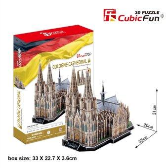 Harga 3D Puzzle - Cologne Cathedral (Germany) - 179 pieces - MC160h