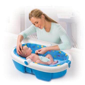 Harga Summer Infant Newborn to Toddler Fold Away Baby Bath