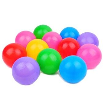 Harga Fancytoy 50pc Kids Baby Colorful Soft Play Balls Toy for Ball Swim Pool