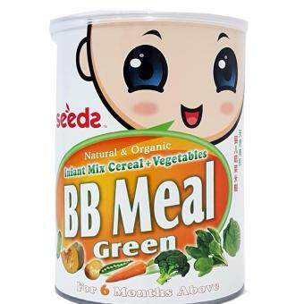 Harga Seedz BB Meal Green, 450g (Infant Mix Cereal) Natural & Organic