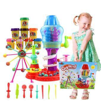 Harga Candy World Sweet Shoppe Candy Cyclone Set Colourful Clay Series