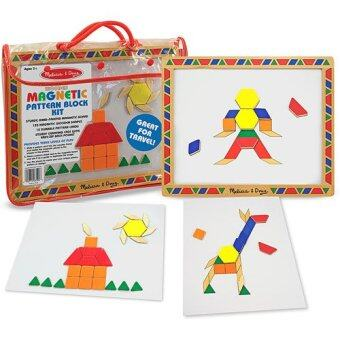 Harga MELISSA & DOUG Magnetic Pattern Block Kit