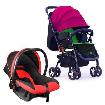 Harga My Sweet Dear Baby Stroller + Safety Baby Car Seat Carrier