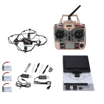 Harga For JJRC H6D 2.0Mp HD Camera 5.8G FPV Cf Mode RC Quadcopter (Intl)