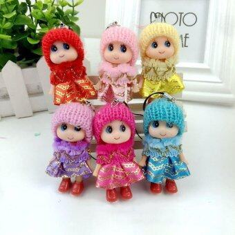 Harga 1PC Interactive Baby Dolls Mini Doll Birthday Home Decor Presents For Kids Girls