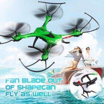Harga JJRC H31 Waterproof Headless Mode One Key Return 2.4G 4CH 6Axis RC Quadcopter RTF - Green