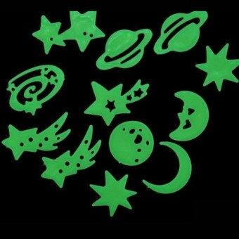 Harga Fancytoy Home Wall Glow In The Dark Stickers Decals Baby Bedroom Nursery Room Decor(Planet)