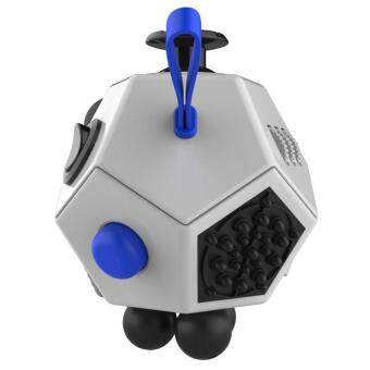Harga Fidget Cube Stress Anxiety Cub e Toy Relieves Stress And Anxiety And Relax Grey(Grey) intl
