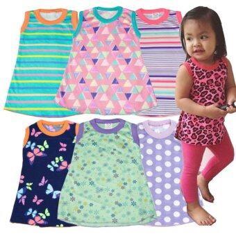 Harga Lara Sleeveless Top Blouse for Baby Girl