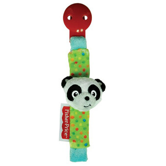 Harga Fisher-Price Pacifier Holder - 7 Inches - Panda