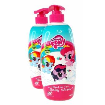 Harga My Little Pony Baby Head To Toe Tear Free Baby Wash Shampoo 2 x 750ml Honey Strawberry Cow Milk