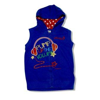 Harga Anakku Minicare Boy Hooded Vest (Blue)