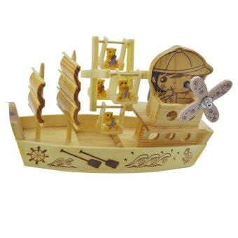 Harga Wooden Music Box -C