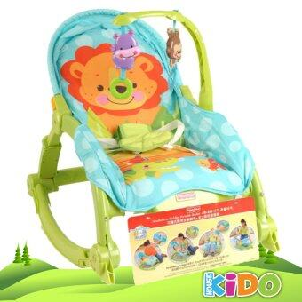 Harga Kido House - Fisher-Price W2811 Newborn-to-Toddler Protable Rocker Chairs (GREEN)