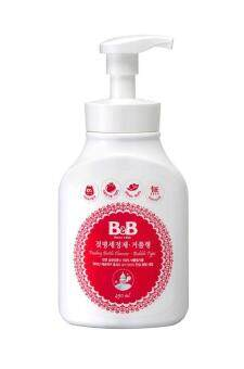 Harga B&B FEEDING BOTTLE CLEANSER (BUBBLE)450ML(BOTTLE)/Hot Item/100% Natural/ Bahan Cuci