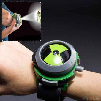 Harga BANDAI Ben10 Projector Watch Cartoons Watches Toy Ben 10 Projector Birthday Kids