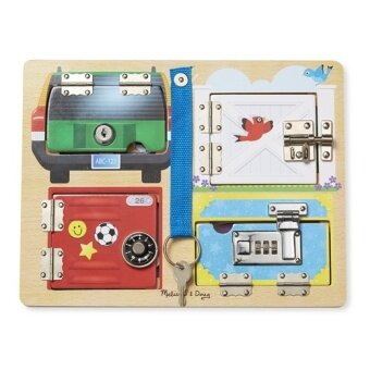 Harga MELISSA & DOUG Lock & Latch Board