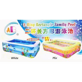 Harga 2 Ring Rectangle Family Pool