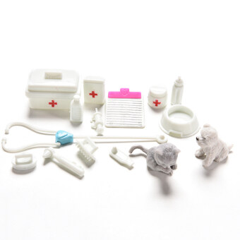 Harga Amango Medical Supplies Doll Medical Toy for Barbie Accessories Girls Best Gifts 1Set