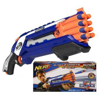 Harga Nerf N-Strike Elite Rough Cut 2x4 Blaster