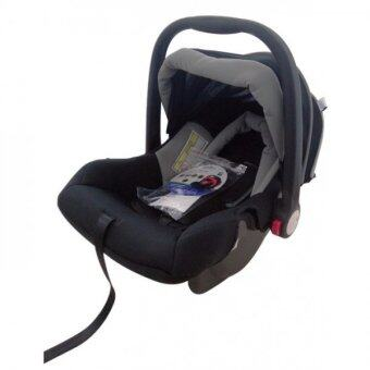 Harga Little Bean Infant Baby Carrier Carseat (Grey)